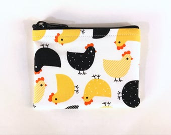 Chick Party Coin Purse - Coin Bag - Pouch - Accessory - Gift