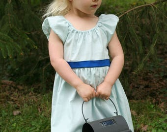 Wendy Nightgown dressup 3t RTS, gift for girls, Wendy and Peter dress up, Every Day Play Wear, Handmade, Ready to ship