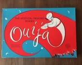 Vintage Wooden Egyptian Luck OUIJA Board