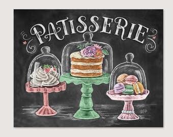 French Bakery   Patisserie   Chalk Art   Spring Art   Macarons   Cakes    Kitchen