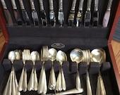 Sterling Silver Flatware Set, service for 12 + , Oneida Heiress
