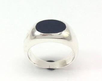 Gift For Men - Silver Mens Ring, Ring For Him, Gift For Husband, Leo Ring, Anniversary Gift For Men, Gift For Boyfriend, Graduation Ring