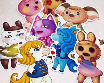Animal Crossing Villager Stickers