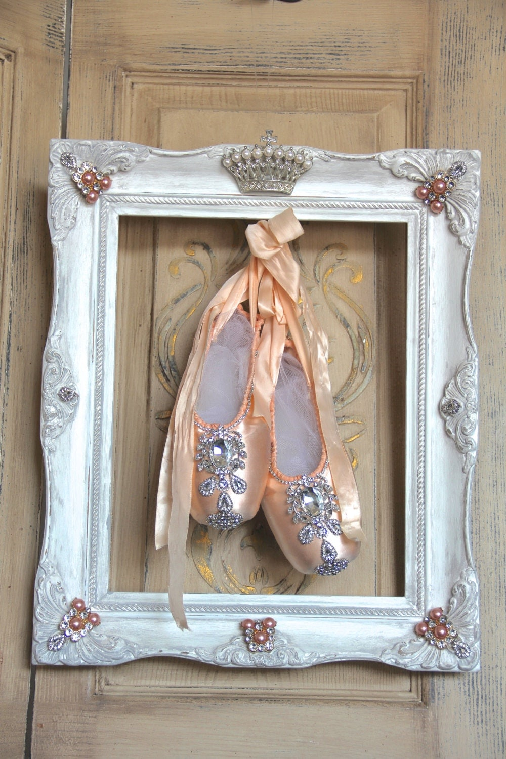Ballet shoes wall decor framed ballet ballerina decor for Ballet shoes decoration