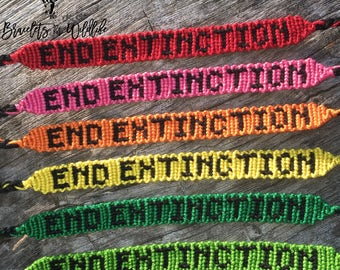 End Extinction Bracelet - Friendship Bracelet