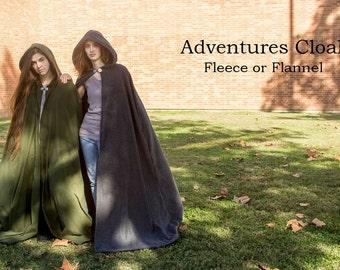 Long Medival Renaisance Fantasy Cloak
