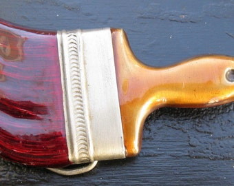 Bergamot Brass Works Paintbrush Belt Buckle