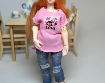 PREODER! Girl 1:12 for dollhouses