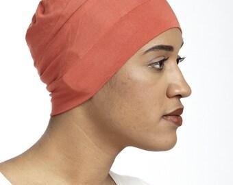 The Bamboo Basic (orange) - A Soft, Hypoallergenic Cap