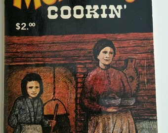 1976 Mormon Cookin LDS Christian Cookbook Recipe Southwestern Cooking Native American Indian Fry Bread Traditional Cooking