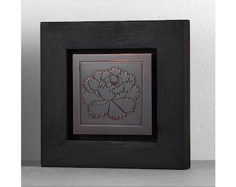 small metal wall art etsy. Black Bedroom Furniture Sets. Home Design Ideas