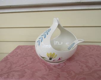 Eva Zeisel Bouquet Gravy Boat Hall China Mid Century Discontinued 1952-57 Collectible Rare
