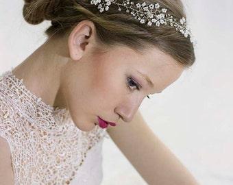 Bridesmaid hair accessories,Gold Bridesmaid headband,Crystals bridal crown,Bridesmaid hair crown,Wedding Head Piece,Boho,Hair Vine