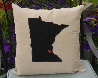 College pillows Etsy