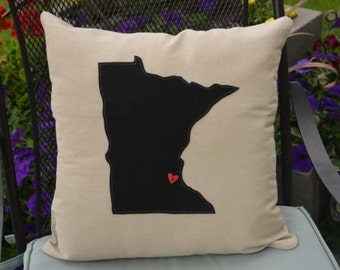 Decorative Pillows For College : College pillows Etsy