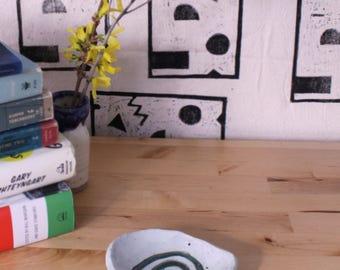Handmade Ceramic Ring Dish Catch-All