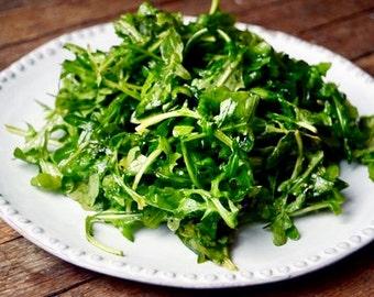 Baby Spinach, Arugula, and Fennel Salad Recipe