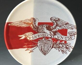E Pluribus Unum Small Plate