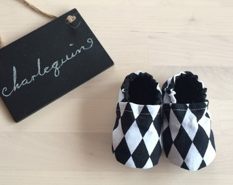Harlequin Baby Shoes