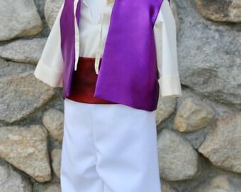 Aladdin Costume (Size 6-8)