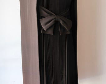 1960s Dress with Pleated Detail