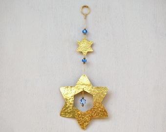 Judaica decor Jewish Star of David - Judaica Art  Magen David - Jewish Gift