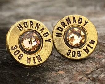 308 Brass Bullet Studs