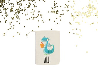 Dragon {set of 10} Personalized Party Favor Bags