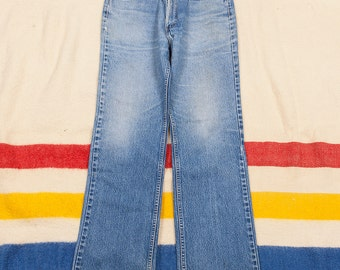 Vintage Levis 501 Denim Jeans Size 34x30 Made in USA Red Tab Great Fade Levi Strauss