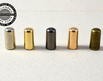 Metal End Tips, Cord end Tips, Hoodie End Tips XL. (1654)