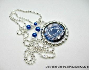 Penn State University, Penn State Nittany Lions, Penn State Jewelry, Penn State Necklace, PSU Accessories, PSU Nittany Lions Jewelry