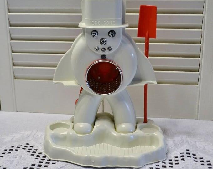 Vintage Hasbro Frosty Sno Cone Machine  Snow Cone Maker Shaved Ice Vintage Toy PanchosPorch