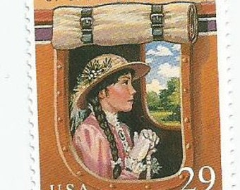 1 Mint Rebecca of Sunnybrook Farm Postage Stamp