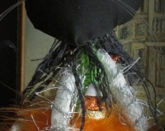 PRiSCiLLa THe CaT Halloween Art Doll - BLACK FRIDAY SALE !