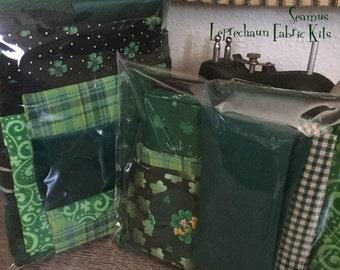 "Fabric Kit: ""Seamus"" - Leprechaun doll pattern by Sparkles n Spirit"