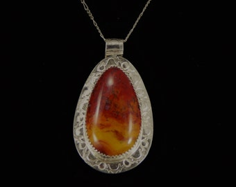 Inferno Flame Agate