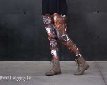 Coffee Leggings (One Size)