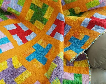 Kisses Quilted Throw