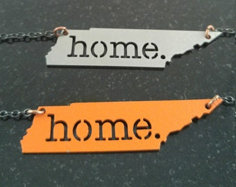 "Tennessee ""Home"" Necklace"