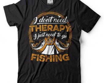 Fishing T-Shirt Gift For Fisherman Funny Outdoor Life fishing Tee Shirt