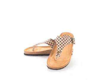 Cork Thong sandal - FREE SHIPPING WORLDWIDE / ladies Shoes / Cork woman sandals / Summer Shoes - Vegan Eco Friendly Gift Idea
