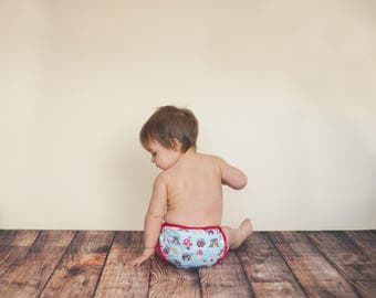 GEN-Y Universal Diaper Cover in Into the Woods Print
