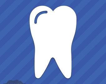 Tooth Vinyl Decal Sticker