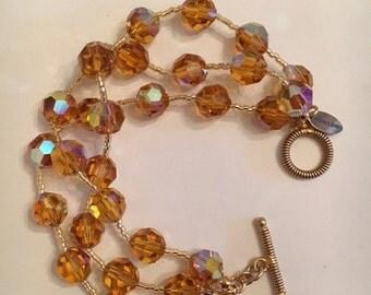 Swarovski AB Crystal Bracelet