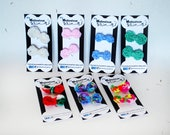 Dog Hair Bows - Crochet Dog Hairbows - Set of 2 - Dog Grooming Bows - Dog Accessories - Dog Crochet Hair Accessories