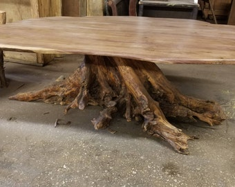 Luxury Artisan Hand-Crafted Rustic Dining Room Table