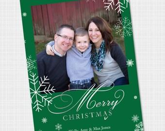 Holiday Photo Card | Christmas Card | Printable Card {Digital File}