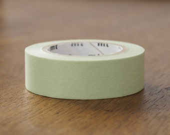 Pastel Olive washi tape | MT 2017 Spring & Summer Collection MT Plain Colour Tapes (MT01P356)