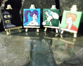 Futurama Minis - Original Paintings