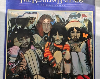 The Beatles Ballads Vinyl LP John Byrne Cover Art